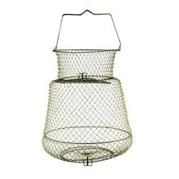 Fishing cage, metal; 45 cm