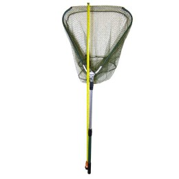 Triangle; Net size 600 mm cap., Total length 2 m (folded state 78cm)