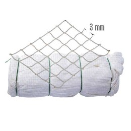 Del Capr. knotless; 3 mm, 210 days / 5, h = 600 ball, L = 88 m (pack 15 kg) white