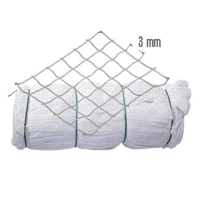 Del Capr. knotless; 3 mm, 210 days / 5, h = 600 ball, L = 88 m (pack 15 kg) white, from: NoBrend (Китай)