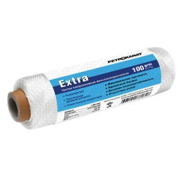 Thread kapron white Extra, reel 100 grams 0.80 mm, 210d / 12