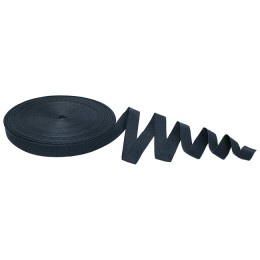 Anchor tape, 25 mm, 30 m, thermal pack, black