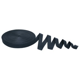 Anchor tape, 20 mm, 30 m, thermal pack, black