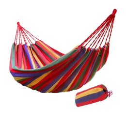 Fabric hammock for fishing and recreation