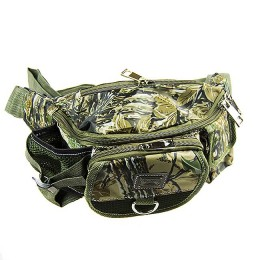 Belt and shoulder bag for fishing and nature walks