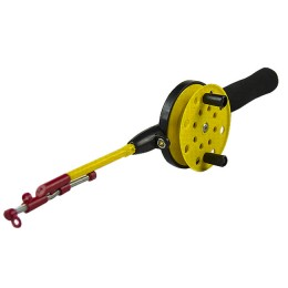 Fishing rod winter Yellow with a nod 78 mm