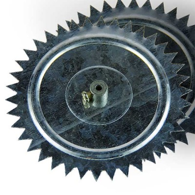 Torpedo wheel metal for installation of nets under the ice, 2 PCs., article 00056100005, production