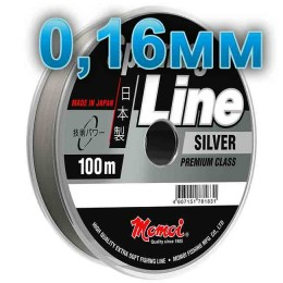 Fishing line Spinning Silver; 0.18 mm; 4.0 kg test; length 100 m