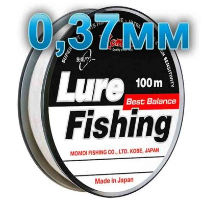 Fishing line Lure Fishung; 0.37 mm; 14 kg test; length 100 m, article 00064400059, production Momoi Fishing (Япония)