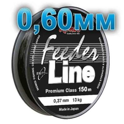 Fishing line Feeder Line; 0.60 mm; 30 kg test; length 150 m, from: Momoi Fishing (Япония)