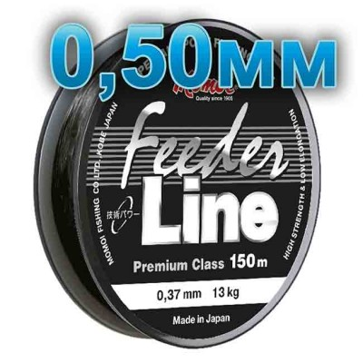 Fishing line Feeder Line; 0.50 mm; 23 kg test; length 150 m, article 00064600093, production Momoi Fishing (Япония)