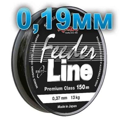 Fishing line Feeder Line; 0.19 mm; test 4.0 kg; length 150 m, article 00064600103, production Momoi Fishing (Япония)