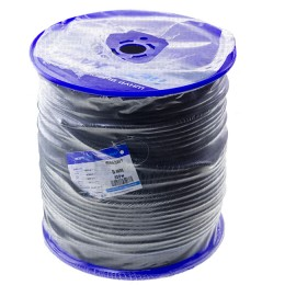 Wicker cord Standard, on a reel 350 m, diameter 8 mm, black