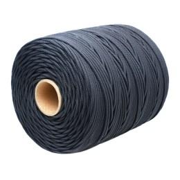 Wicker cord Standard, on a reel 400 m, diameter 5 mm, black