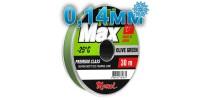 Winter Hi-Max Olive Green; 0.14 mm; 2.1 kg test; length 30 m
