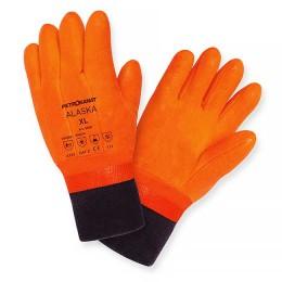 Winter Alaska PVC gloves, with cuff; XXL