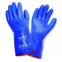 Gloves PVC winter insulated Arctic; XXL