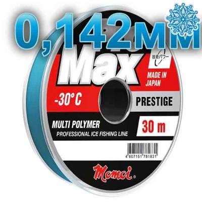 Scaffold winter Pro-Max Prestige; 0.142 mm; 2.4 kg test; length 30 m, article 00070600137, production Momoi Fishing (Япония)