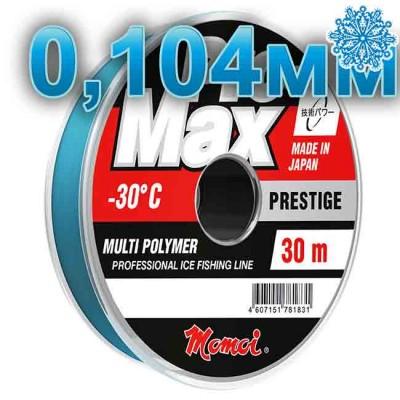 Scaffold winter Pro-Max Prestige; 0.104 mm; 1.3 kg test; length 30 m, article 00070600141, production Momoi Fishing (Япония)