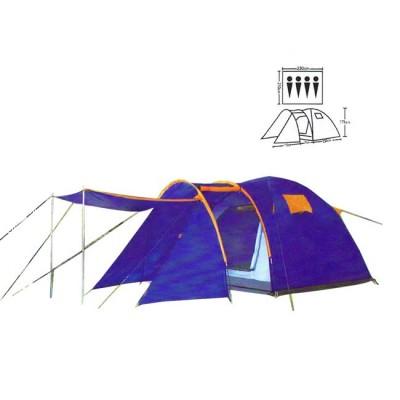 Tent tourist spot 4, no. XFY-1605, article 00074400003, production Bazizfish (Китай)