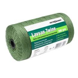 Lavsan thread dark green, 1.5 mm, 20s / 247test 35 kg, 100 g