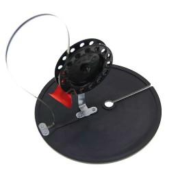 Жерлица (неоснащенная), диаметр 200 мм, катушка 90 мм, стойка алюминий