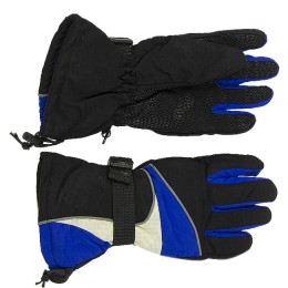 Winter fishing gloves with wrist strap (color: random)