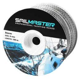 Storm yacht cord on a reel of 100 m.; 8.0 mm. 7545 kg