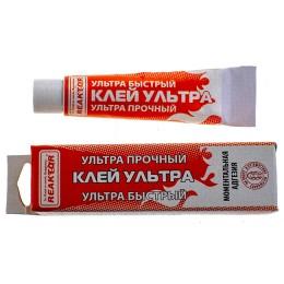 Glue ultra moment, tube of 15 ml.