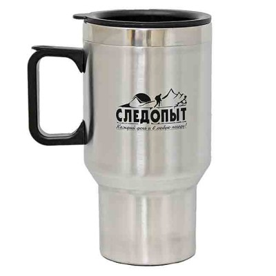 Isothermal mug 360 ml, article 00158400001, production Следопыт (Россия)