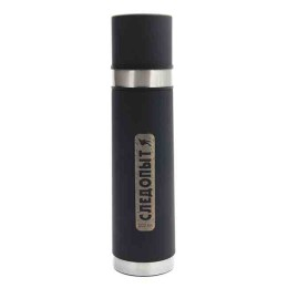 Stainless thermos with double cover, 500 ml