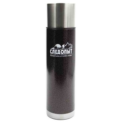 Stainless thermos 500 ml, article 00159600003, production Следопыт (Россия)
