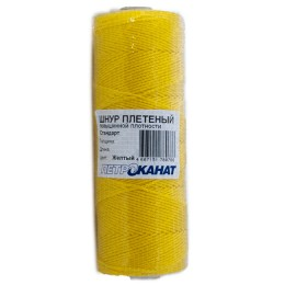 Wicker cord Standard, on a reel 250 m, diameter 1.2 mm, yellow