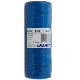 Wicker cord Standard, on a reel 500 m, diameter 2.5 mm, blue