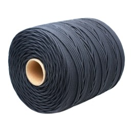 Wicker cord Standard, on a reel 500 m, diameter 1.2 mm, black