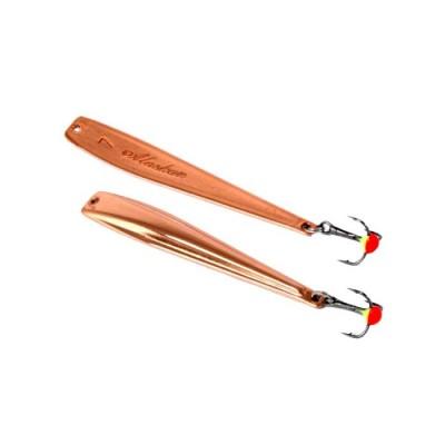 Alaska spinner; 50mm, weight 4.5 g C-copper, from: Северные мастерские (Россия)