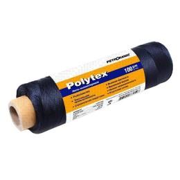 Threads Polytex 210 den / 60, 2.0 mm, 100 g, black