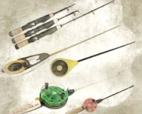 Winter fishing rods