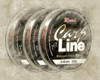 Carp Line Dark Broun 150 m