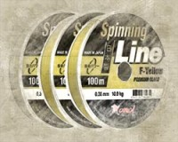 Spinning Line F-Yellow 100 m