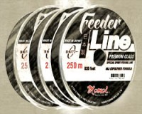 Feeder Line Deep Black 250 m