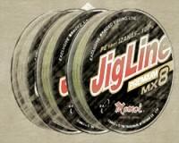 Pletenka JigLine Premium WX8 150 m, Khaki