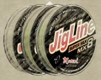 JigLine MX8 Super Silk pletenka 100 m, green
