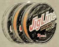 JigLine MX8 Super Silk Pletenka 100 m, orange