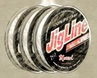 Pletenka JigLine Teflon 100 m, gray