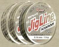 JigLine Kiwami Pletenka 125 m, Khaki
