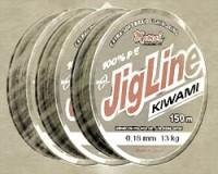 JigLine Kiwami Pletenka 150 m, Khaki