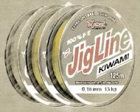 JigLine Kiwami pletenka 125 m, yellow