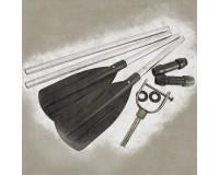 Oars, blades, oarlocks