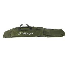 Cover for fishing rods (Beluga / Baziz), color - khaki, 100 cm